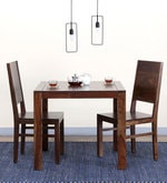 Oriel Two Seater Dining Set in Provincial Teak Finish