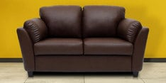 Two Seater Sofa in Dark Brown Colour