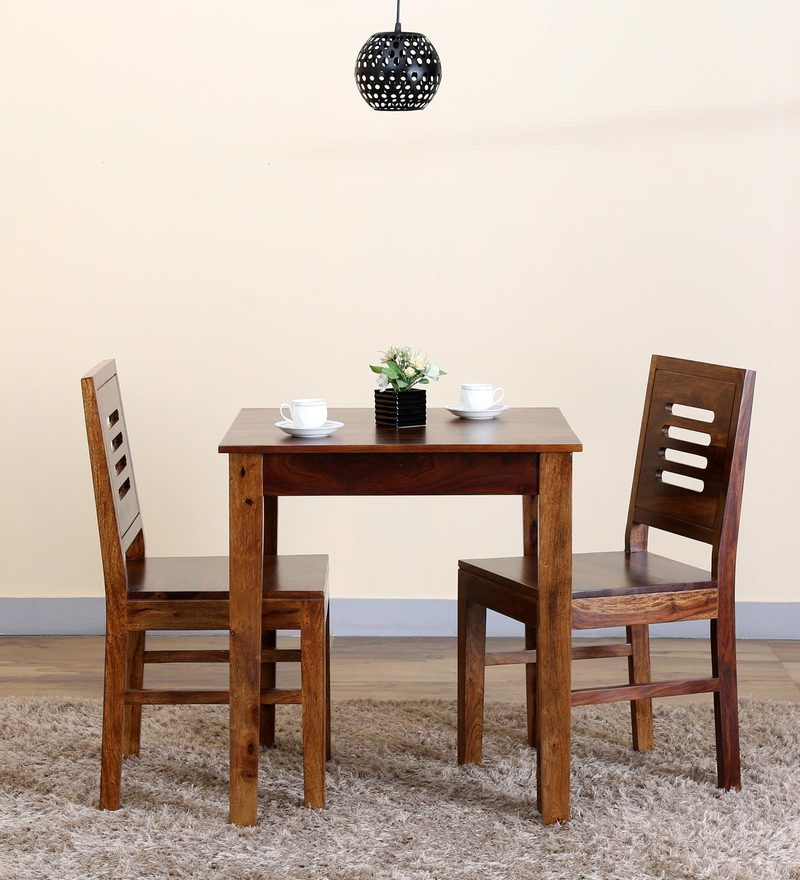 Valencia Two Seater Dining Set in Provincial Teak Finish by Woodsworth