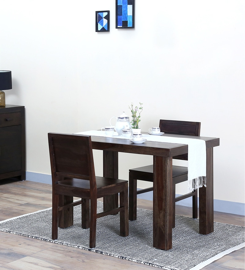 Acropolis Solid Wood Two Seater Dining Set