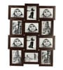 Snap Galaxy Brown Synthetic Wood 4 x 6 Inch Photo Frame Collage