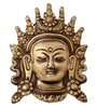 Handecor Brass Tara Devi Face Wall Hanging