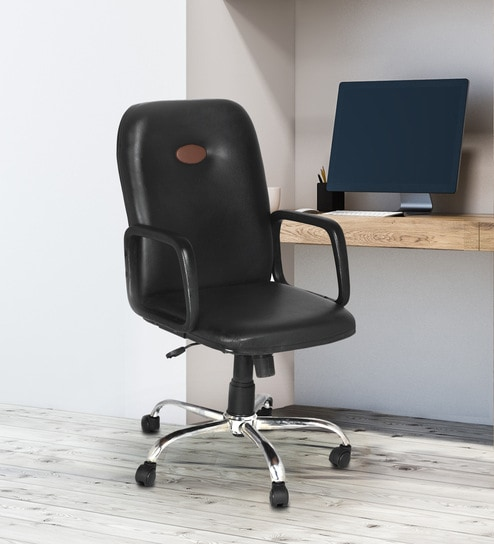 Magnificent Tyche Executive Chair In Black Colour By High Living Best Image Libraries Weasiibadanjobscom