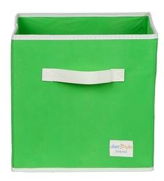 Uberlyfe Cubies Cardboard 20 L Green Storage Box