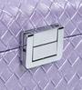 Double Level Purple Up Leatherette Jewellery Box by Uberlyfe