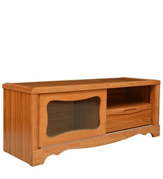 Ultra LCD TV Unit In Rusty Colour By Royal Oak