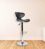 Umbrella Bar Chair in Black Colour