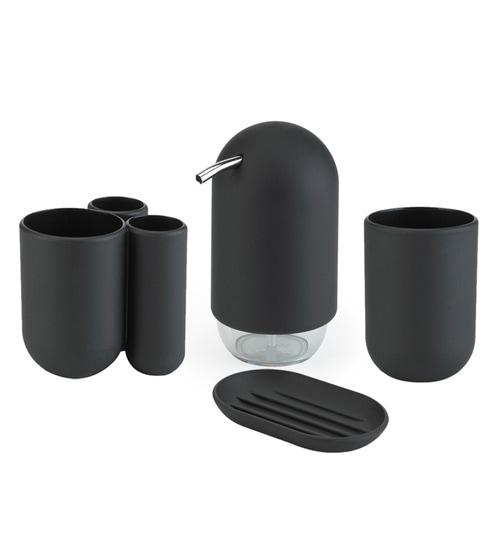 Umbra Touch Black Bathroom Set