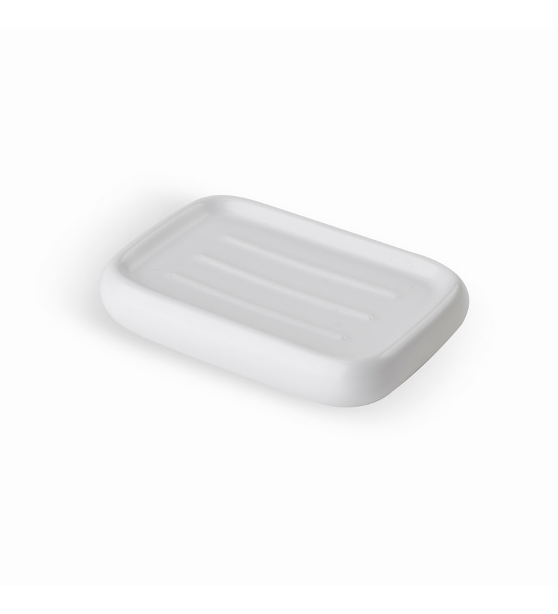 Umbra Kona White Soap Dish