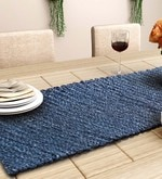 Unravel India Blue Sabai Grass Table Runner