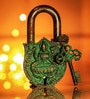 Unravel India Lakshmi Coated Brass Lock