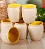Unravel India 150 ML Stoneware Kulhar Cups Set - Set of 6
