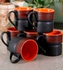Unravel India India Matte Stoneware Mugs