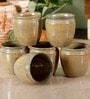 Unravel India 150 ML Studio Pottery Stoneware Kulhar Cups - Set of 6