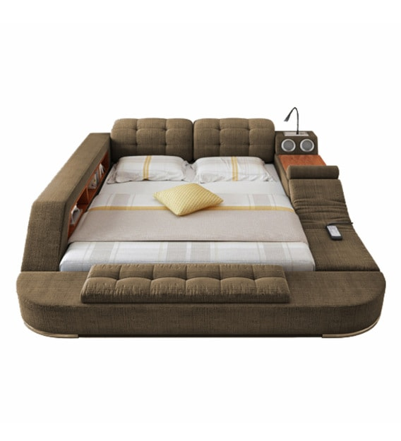 Urban King Size Upholstered Bed, Smart Bed Queen Size