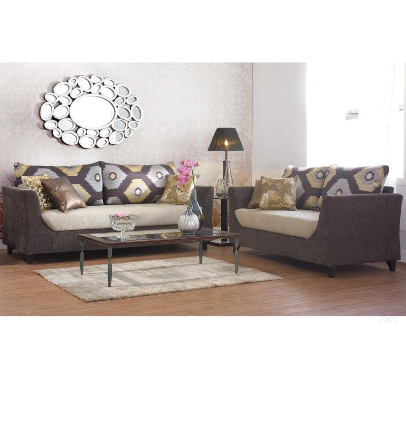 Urban Living Mumbai Glitz Sofa Set 1 Three Seater Sofa
