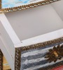 Leah Bedside Table in Distress Finish by Bohemiana