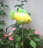 Uru Products Hand Painted Fish Shaped Garden Stick