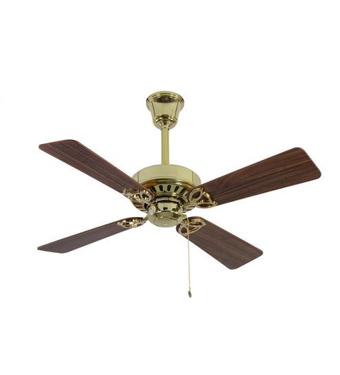 Buy usha hunter bayport brass ceiling fan with walnut blades usha hunter bayport brass ceiling fan with walnut blades mozeypictures Gallery