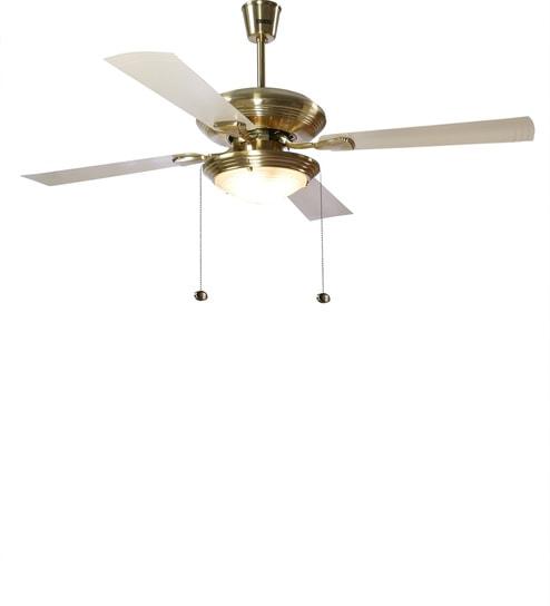 Buy usha fontana one gold ivory ceiling fan with light online usha fontana one gold ivory ceiling fan with light aloadofball Image collections