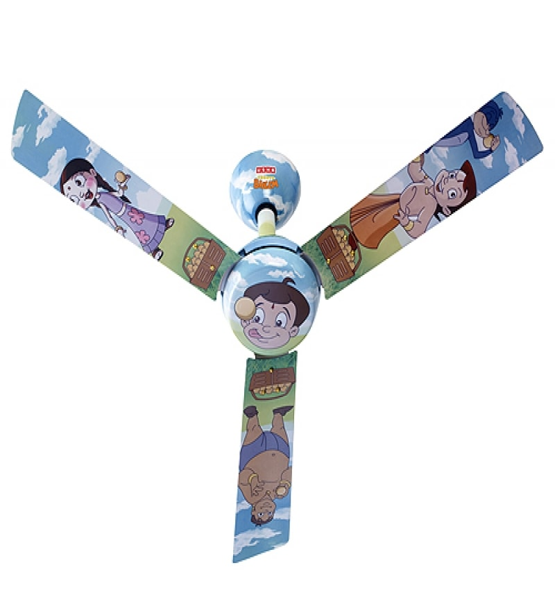Buy Usha 1200mm Kids Ceiling Fan Chhota Bheem Ladoo Online
