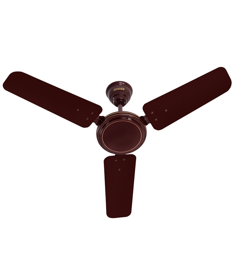 Usha Ace Ex Brown Ceiling Fan - 35.43 inch