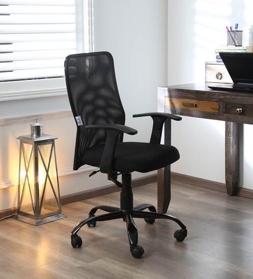 Swell Uv Mesh Office Chair In Black By Vof Uwap Interior Chair Design Uwaporg