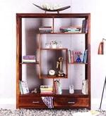 Buy Edmonds Display Unit In Honey Oak Finish By Woodsworth