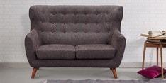 Valencia Two Seater Sofa in Cedar Brown Colour
