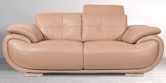 Valley Two Seater Sofa in Beige Colour