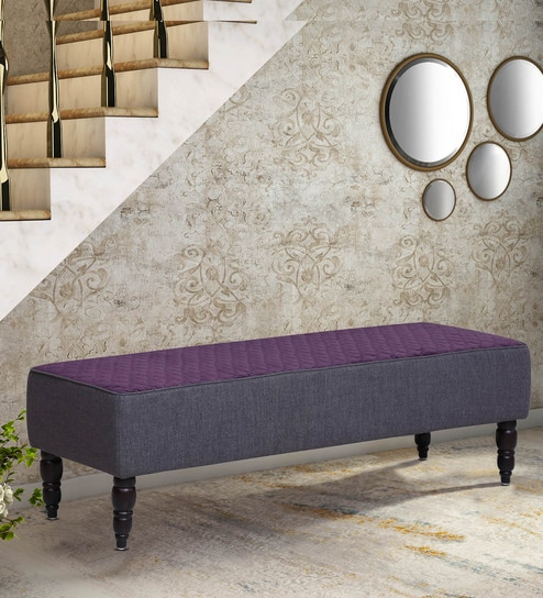 Groovy Valour Upholstered Settee With Base In Walnut Finish By Amberville Gmtry Best Dining Table And Chair Ideas Images Gmtryco