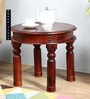 Valana End Table in Honey Oak Finish by Amberville