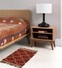Carpet Overseas Multicolour Jute 24 x 37 Inch Kilim Design Dhurrie