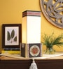 Beige Fabric Table Lamp by VarEesha
