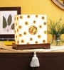 VarEesha Cream Fabric Desk Lamp