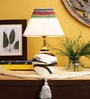 Cream Fabric Lamp Shade by VarEesha