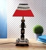 VarEesha Warli Painted Dhokra Table Lamp