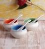 VarEesha Ceramic 300 ML Handmade Soup - Set of 12