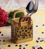 VarEesha Ceramic Handmade Cutlery Holder Basket