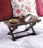 VarEesha Handcrafted Madhubani Wooden Bed Tray