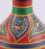Vareesha Multicolour Terracotta Hand-Painted Warli Vase