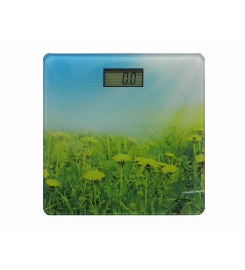 822f618d5b Venus Electronics Digital Bathroom Weighing Scale With Printed Glass -  Square by Venus Online - Weighing Scales - Weighing Scales - Pepperfry  Product
