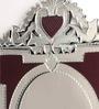 Raisa Crown Top Wall Mirror by Venetian Design