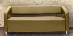 Vitara Three Seater Sofa in Butterscotch Colour
