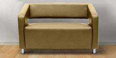 Vitara Two Seater Sofa in Butterscotch Colour