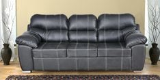 Vivianna Three Seater Sofa in Black Colour