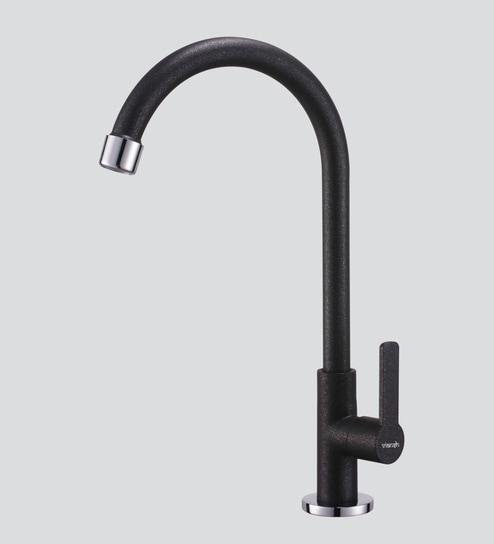 Buy Viansh Black Brass Sink Faucet Online - Kitchen Sinks Taps ...