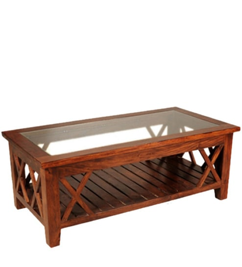 Awesome Vincent Coffee Table In Honey Oak Finish By Woodsworth Pdpeps Interior Chair Design Pdpepsorg