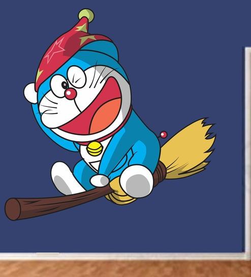 Vinyl Doraemon Wall Sticker By Happy Walls