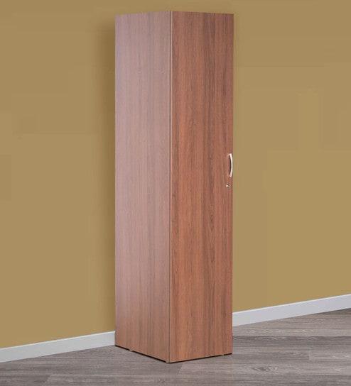 Viva Single Door Wardrobe Cincinnati Walnut Finish by Godrej Interio & Buy Viva Single Door Wardrobe Cincinnati Walnut Finish by Godrej ...